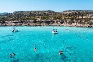 Blick auf die blaue Lagune - Zyperns Sehenswürdigkeiten
