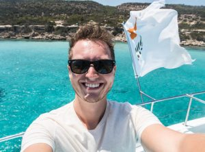 Selfie in Zypern