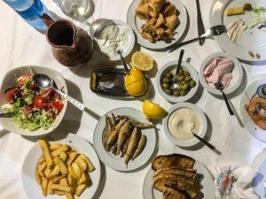 Zypern Restaurants - Y&P Fish Taverne in Latchi