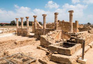 Sightseeing in Paphos im archäologischen Park