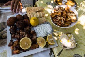 Agrotourismus in Steni Zypern - Mittagessen in der Neromylos Taverne