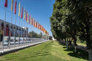 Park in Bischkek Kirgistan
