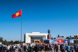 Der Independence Day ist sehr sehenswert in Bischkek