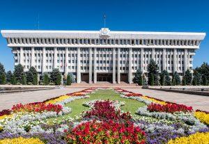 Bischkek Sehenswürdigkeiten - das Parlamentsgebäude