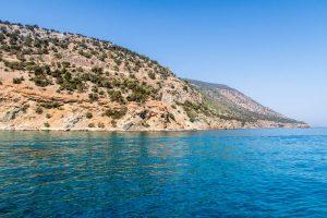 Views of the Akamas National Park Cyprus