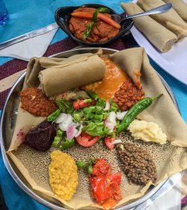Das äthiopische Essen