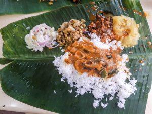 Indisches Essen beim Backpacking Malaysia