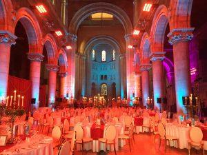 Dinner in der St. Anne's Kathedrale war ein Highlight meines Besuchs in Belfast