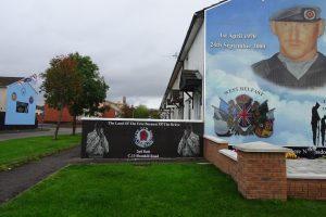 Botschaften durch Murals in Belfast