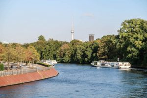 Fluss in Berlin als eines der Deutschland Reiseziele