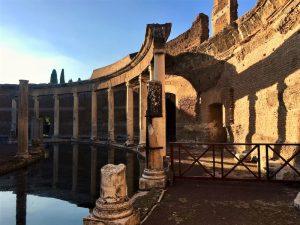 Sehenswert in Rom ist Hadrians Villa