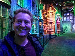 Die Winkelgasse im Harry Potter Museum