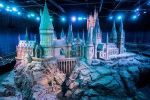 Modellbau von Hogwarts im Harry Potter Museum bei London