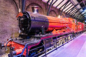 Harry Potter Museum London mit dem Hogwarts Express