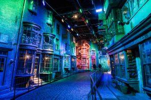Die Winkelgasse von Harry Potter in den Warner Bros Studios London