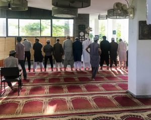 Visiting a mosque - IESS Pakistan review and experiences