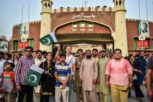 Border visit as part of IESS summer school Karachi, Pakistan