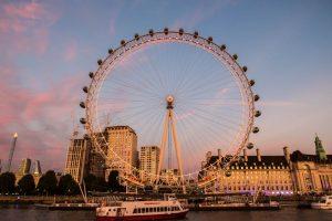 Besuch beim London Eye