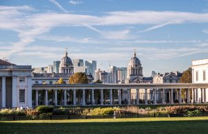 Backpacking London at Greenwich Park