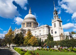 Die Kathedrale beim Wochenendtrip in London