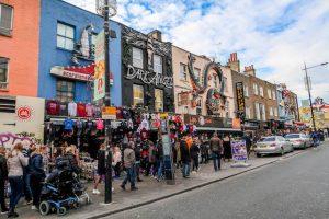 Visiting Camden in London