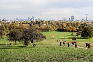 View from Primrose Hill London