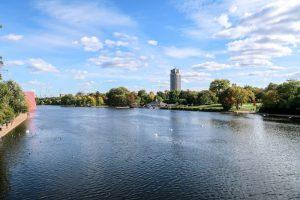 Lake in Hyde Park