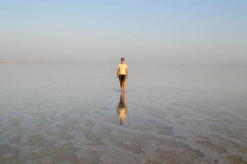 Äthiopien reisen zum Salzsee