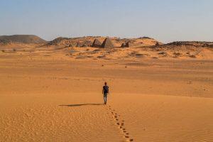 Sudan Reisen zu den Meroe Pyramiden