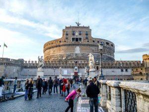 Die Engelsburg ist ein Highlight in Rom