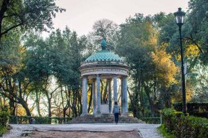 Besichtigung der Villa Borghese in Rom