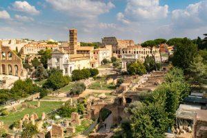 Eine Attraktion in Rom ist der Palatin Hügel