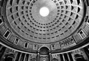 Sehenswert in Rom ist das Pantheon