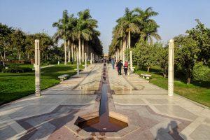 Der entspannende und sehenswürdige Park