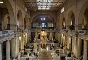 Das Ägyptische Museum ist Teil der besten Kairo Sehenswürdigkeiten