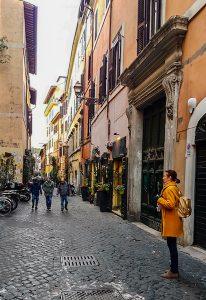 Das Trastevere Viertel ist eine der Sehenswürdigkeiten in Rom