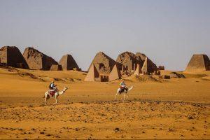 Sudan Visum für die Pyramiden von Meroe