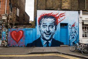 Ausflug zur Brick Lane am Wochenende in London