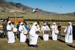 Teilnehmer aus dem mittleren Osten bei den world nomad games 2018 in Kirgistan