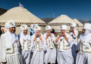 Traditionelle Damen bei den WNG 2018