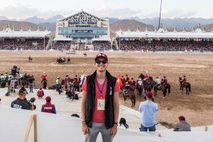 Kok Boru Finale 2018 der World Nomad Games Kirgistan