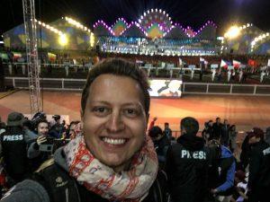 Selfie bei der World Nomad Games 2018 Opening Ceremony