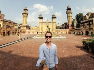 Mosque visit in old Lahore