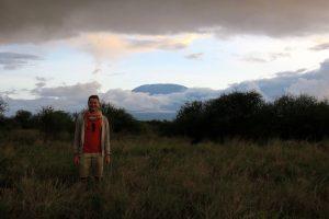 Blick auf den Kilimanjaro im Amboseli Safari Park Kenia