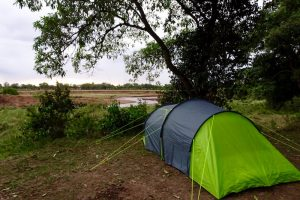 Zeltplatz während meiner Kenia Safari