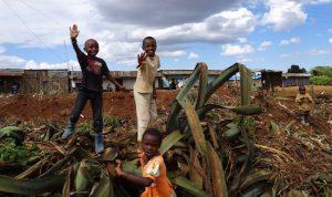 Einheimische Kenias