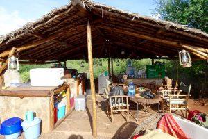 Camp im Amboseli Park