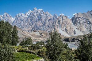 Mountains of northern Pakistan