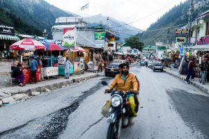 Pakistan backpacking in Naran