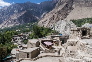 View from the fort of Karimabad
